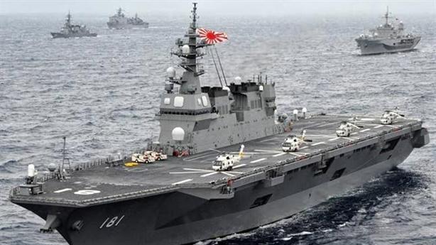 Thái độ lạ của Trung Quốc trước khi Izumo tới Biển Đông