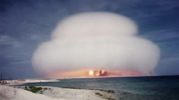 Hé lộ clip Mỹ thử bom hạt nhân tuyệt mật