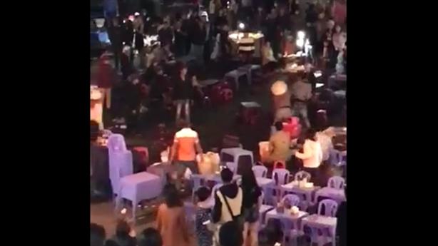 Clip: Đánh nhau tại chợ đêm Đà Lạt gây sốc