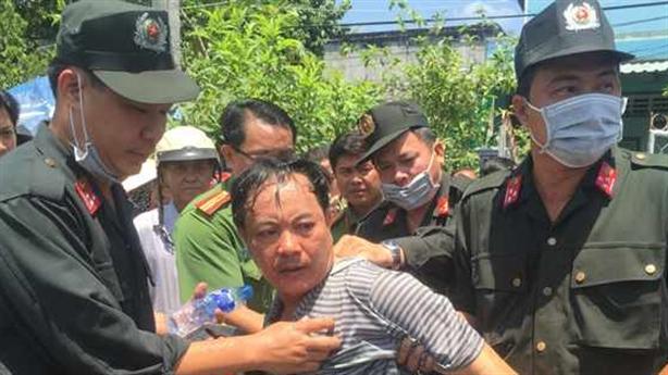 Thông tin mới vụ đâm trọng thương Trưởng phòng tư pháp huyện