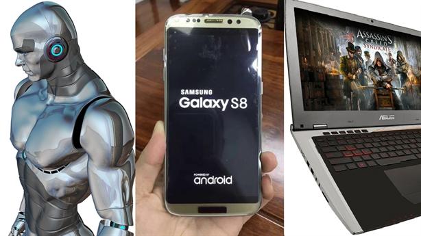 Galaxy S8 kiêm máy tính, robot: Vượt mặt iPhone 8?