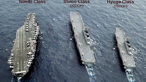 Izumo xuống Biển Đông: Điều gì làm Trung Quốc ngại nhất?