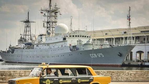 Tàu Nga theo dõi căn cứ tàu ngầm Mỹ suốt 2 tháng