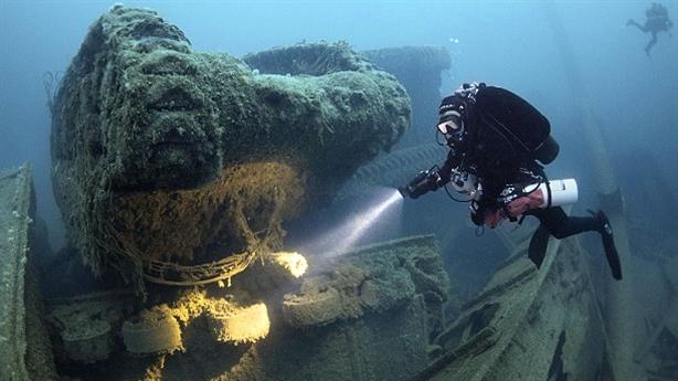 Phát hiện nhiều tàu chở vàng Anh chìm dưới biển