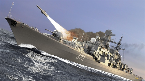 Hạm đội Biển Đen diệt mục tiêu chớp nhoáng trong tập trận