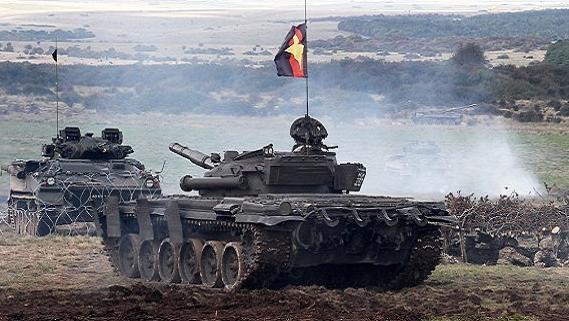 Thuê dân nói tiếng Nga, mượn T-72 tập trận: Mỹ-NATO đánh Nga?