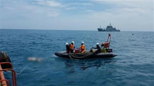 Hai tàu đâm nhau 9 người chết: Khám nghiệm tàu Petrolimex 14