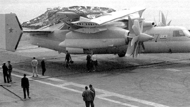 Máy bay cảnh báo sớm trên hạm Nga mới chỉ trên giấy