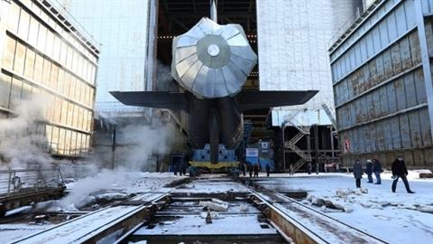 Mỹ khoe sức mạnh tàu ngầm ngày Nga hạ thủy tàu Kazan