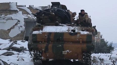 Thiệt hại của Thổ trong chiến dịch Lá chắn Euphrates