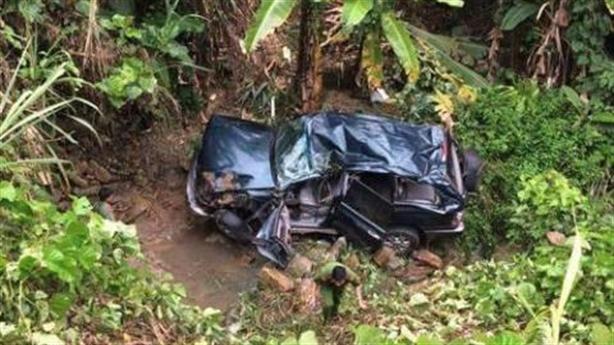 Xe chở Phó TGĐ EVN lao xuống vực, 5 người bị thương