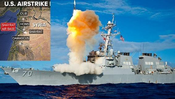 Lộ nguyên nhân Mỹ phóng tên lửa Tomahawk vào Syria