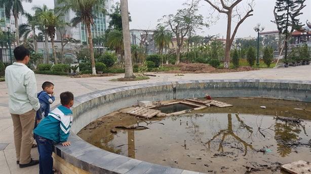 Di dời công viên cây trăm tuổi Thái Bình để... trồng hoa