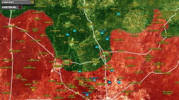 Nga-Syria thắng ngược, phiến quân nhận trái đắng Hama