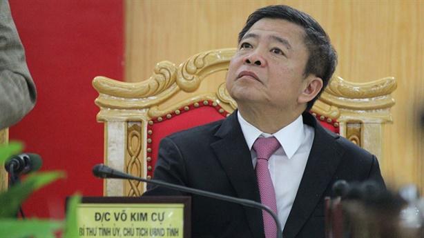 UBKT Trung ương đề nghị kỷ luật ông Võ Kim Cự