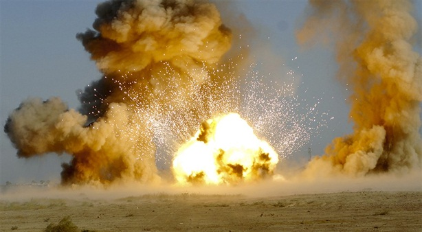 Sức mạnh khủng khiếp bom nhiệt áp Nga dùng tại Syria