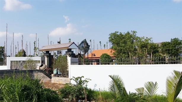 Sếp Cty Cấp nước xây biệt thự chui: Sở không quản lý