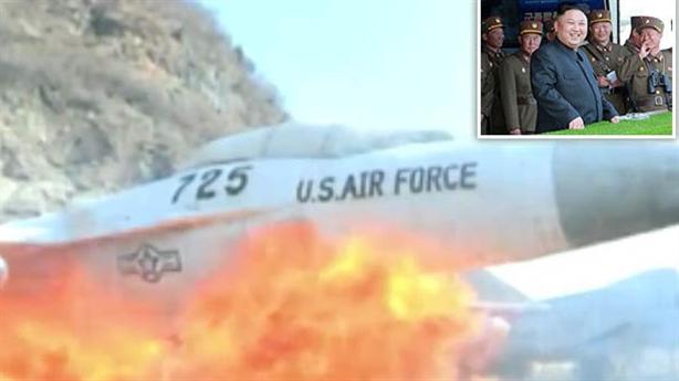 Triều Tiên tung clip phá tan máy bay chiến đấu Mỹ