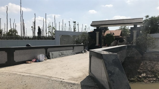Sếp Cty cấp nước xây biệt thự chui: 'Làm rất công tâm'
