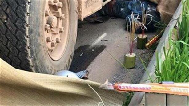 Sự thật xe tải cố tình đâm chết 2 người Bắc Giang
