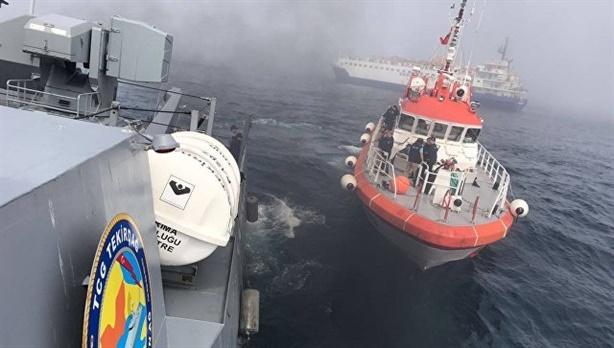 Nga gấp rút trục vớt thiết bị bí mật từ tàu Liman