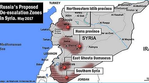 Israel lo không quân bị trói trong 4 vùng Syria