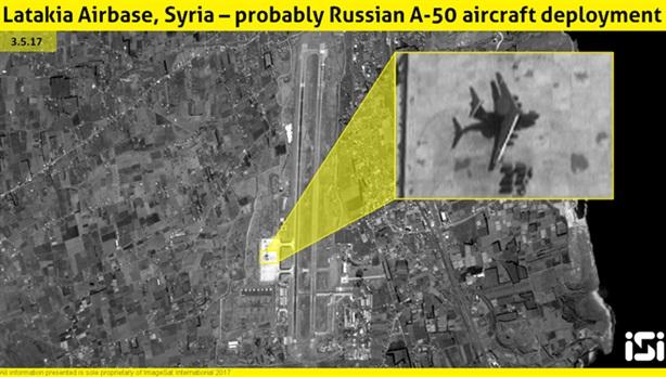 Israel phát hiện khi A-50 đã yên vị tại Hmeymim