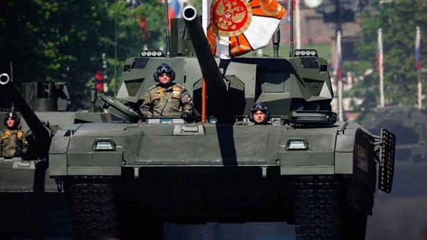 Xe tăng Mỹ đốt cháy Armata bằng vũ khí laser