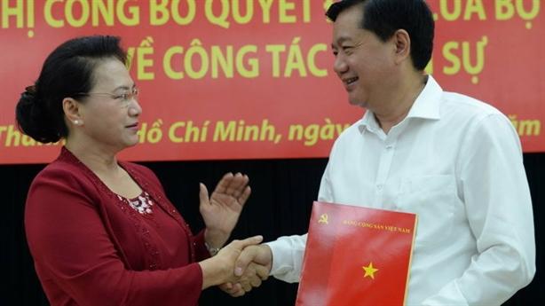 Ông Đinh La Thăng làm Phó ban Kinh tế TƯ