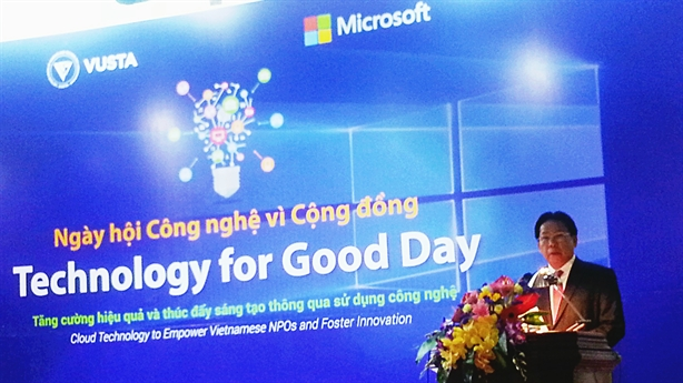 VUSTA hỗ trợ công nghệ Microsoft đến tổ chức phi lợi nhuận