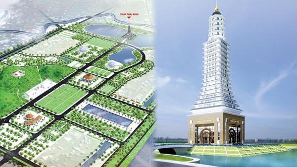 Tháp Thái Bình 300 tỷ trông... lạ: Phô trương quá mức?