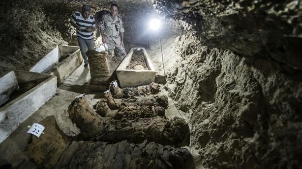 Ai Cập thấy hầm mộ cổ bí ẩn: Xác ướp còn nguyên