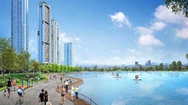 """Hồ điều hòa 7200 m2 - """"bảo bối"""" của FLC Garden City"""