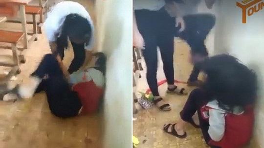 Nữ sinh bị đánh hội đồng: Nhiều nam sinh đứng xem