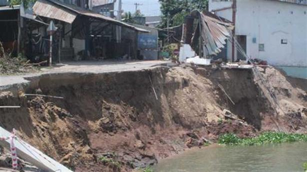 ĐBSCL sạt lở gần 600 km: Thủy điện Mekong giữ phù sa...