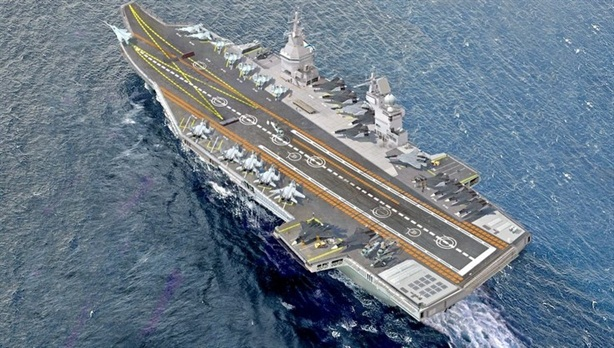 Nga sẵn sàng đóng tàu sân bay hạt nhân đầu tiên