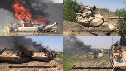 Nóc xe - tử huyệt với xe tăng Mỹ