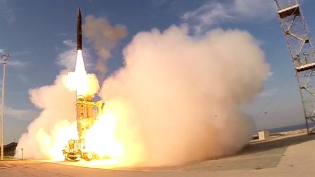 Israel thử động cơ tên lửa đánh chặn ngoài vũ trụ