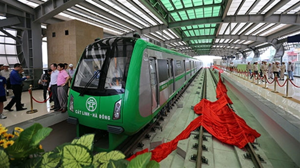 Đường ray tuyến Cát Linh-Hà Đông bị gỉ: Khó ai chấp nhận