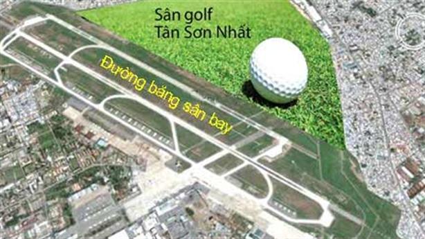 Bộ Quốc phòng thu hồi sân golf trong Tân Sơn Nhất khi...