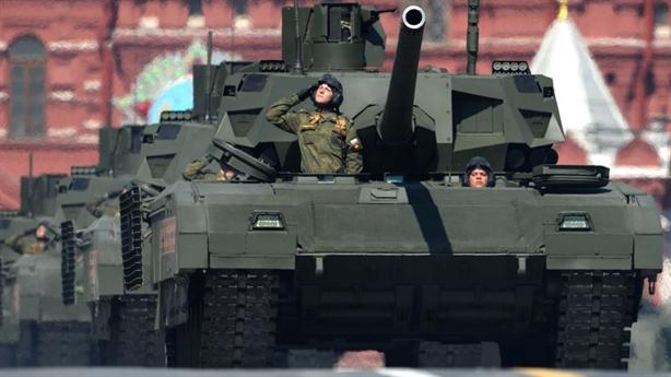 Modul chiến đấu tối tân trên tăng Armata