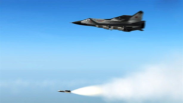Nga cho MiG-31 tập cắt đứt huyết mạch Mỹ