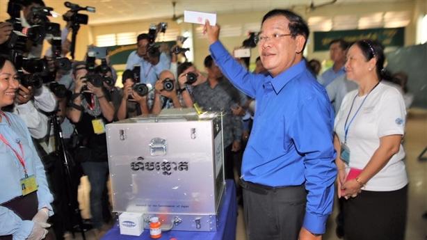 Bầu cử Campuchia: Cuộc đua đã ngã ngũ