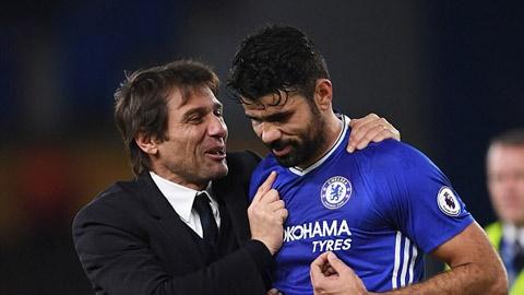 Vì sao Diego Costa bị Conte loại bỏ?