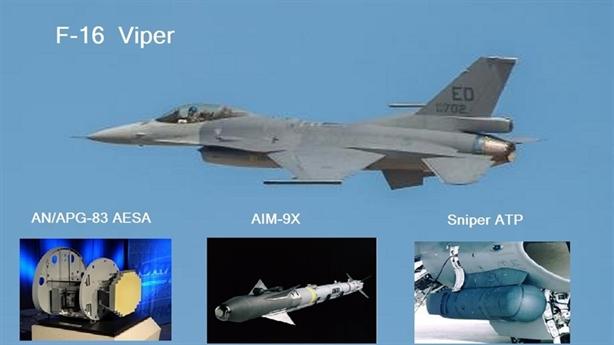 Mỹ lột xác F-16V với tính năng tiêm kích thế hệ 5