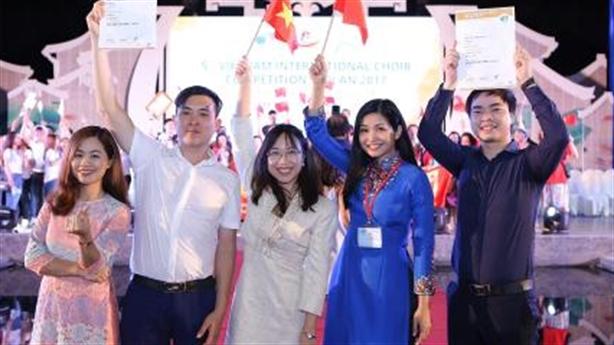 Vinschool One-Đạt 2 giải Vàng tại Hội thi Hợp xướng quốc tế