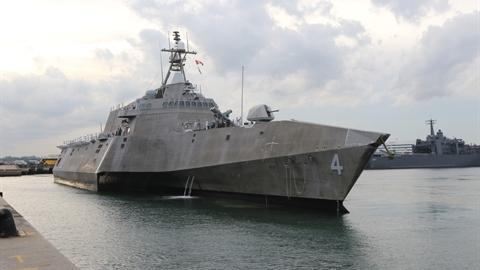 Mỹ đưa chiến hạm LCS mạnh nhất thăm Việt Nam