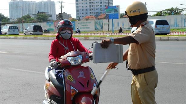 CSGT cấp huyện không được xử phạt trên quốc lộ