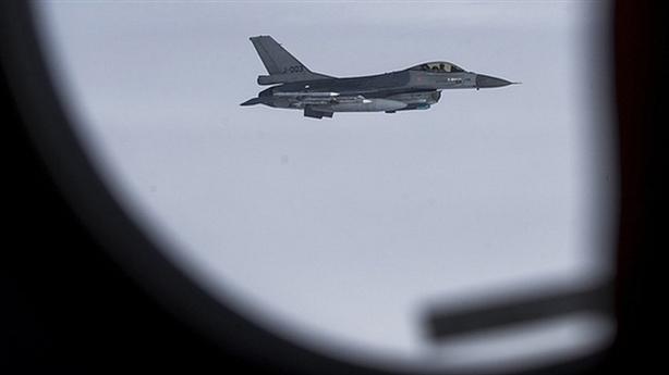Su-27 đuổi F-16: Hành động chuyên nghiệp