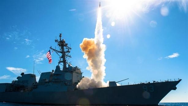Tên lửa SM-3 mất hút khi đánh chặn mục tiêu